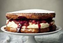 big {sweets} / beware: dangerous amounts of sugar and butter ... / by Leslie Jones