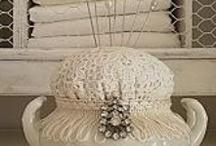 Pin cushions / by Myra Haddad