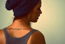 Make Your Mark / Tattoos & Piercings ! / by Katlin Mangrum