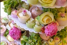 """CUPCAKES / """"A cupcake a day, keeps the tummy rumbles away."""" / by Tina Walker"""