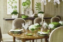 """DINING ROOMS / """"Pull up a chair. Take a taste. Come join us. Life is so endlessly delicious.""""  ― Ruth Reichl / by Tina Walker"""