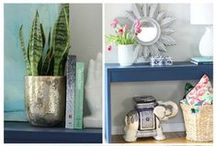 Easy Home Decor Ideas / Easy ways to update and decorate your home.