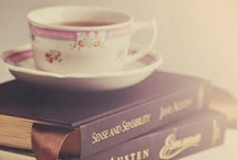 Books / Nothing better than a rainy day, a cosy fire, a strong cup of tea and a good book