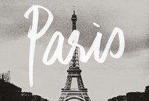 "Parisian Inspiration / ""Paris is always a good idea"" - Audrey Hepburn"