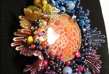 Bead embroidery / by Barbara McKenna