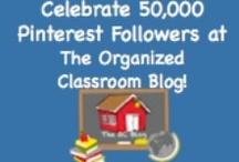 The Organized Classroom Blog Celebrates 50,000!