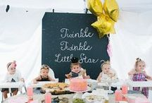 KID'S PARTIES / Ideas for Children's Parties / by Tina Walker
