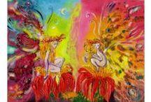 FANTASY AND FAIRY TALES / Art Prints of original paintings .Bulgan Lumini and Ailartwoks (c)