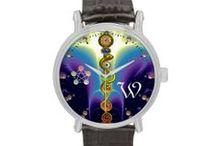 ARTISTIC WRIST WATCHES by Bulgan Lumini / Artistic and original Wristwatches  Designed by Bulgan Lumini (c)