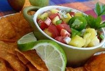 DIPS / Dips, Salsa and Guacamole...grab a chip and dig in.  / by Tina Walker