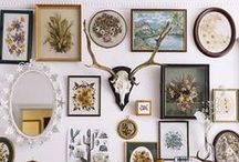 Art Collection / Fun and unique ways to display your personality.