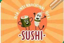 Día del sushi / Hoy es el #DiaDelSushi ¿Tu también lo celebras? / by El Corte Inglés