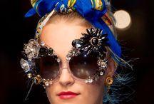 Bling Bling specs / Extravagant, embellished eyewear for women.