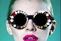 Oversized sunglasses / Large, oversized sunglasses for women.