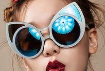 Cat eye sunglasses / Cat eye design inspired eyewear for women