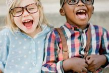 Eyewear for Kids / Cute kids, babies and children in glasses