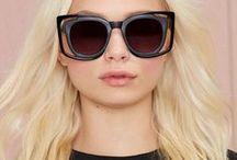 Rectangular Sunglasses / Rectangular shaped sunglasses for women.
