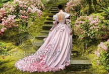Vintage and Victorian / I love things that resemble victorian style and the way of years gone by...vintage.  The beauty of lace, beads, gracefully sculptured curves, flowers, parasols and so much more.