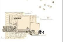 Scrapbook layouts ! / by Jane Goldman