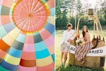 Hot Air Balloon Wedding Inspiration / by Miss Ruby