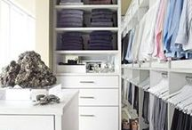 Closets | Eat Your Heart Out Carrie Bradshaw! / A closet is our sanctuary.   We start and end our days here - why shouldn't they be fabulous? / by Christi Barbour | Interior Designer
