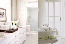Bathrooms | Cleansing the Soul / by Christi Barbour | Interior Designer