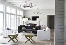 Family Rooms | Hang Here / All about lifestyle, attitude and making a house into a home.   / by Christi Barbour | Interior Designer