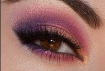 Purple Eyeshadow Looks / From electric violet to soft lavenders, purple shadows make for a bold statement that complements every skin tone as well as every eye color. Purple is also one of the few shades that brings out the color in hazel, green, brown, and blue eyes  --  Regina Domfrocht
