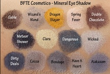 BFTE Cosmetics Swatches