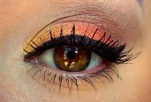 Orange/Yellow Eyeshadow Looks