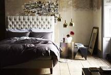 Bedrooms - dormitorios / by Plantea