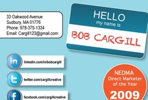 My Infographic Resume / Two Versions of Bob Cargill's Infographic Resume