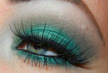Teal Eyeshadow Looks / Not So Boring Teal Eyeshadow.