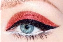 Red and Burgundy Eyeshadow Looks