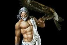 Ambitious Personality Type / Zeus, King of Olympus. The authority with confrontation skills that commands power with confidence and pride. Mythological Jupiter Archetype