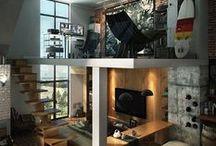 MINILOFT / Alcune idee per arredare un mini loft senza rinunciare al comfort, alla luce ed all'accoglienza
