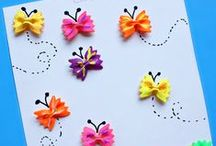 "☼ Crafts for Kids / Craft ideas for kids. Easy, fun and kid friendly craft ideas.  / by Mariel @ ""Or so she says..."""