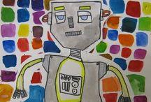 THÈME - robots / by Valérie Cadieux