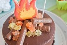 Camping Party Ideas / Camping birthday party ideas- camping themed cakes, food, decorations, invitations perfect for your outdoor kid!