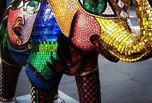 Mali in the City / To celebrate 150 years at Zoos Victoria, 50 Elephant statues have been painted by various artists and placed at various locations in the city of Melbourne. There is a phone app which helps you locate them. I'm going to try and find as many of them as I can!