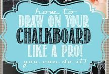 DIY: Chalkboard Paint Crafts