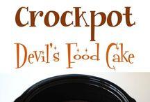 Crock Pot: DESSERTS