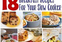 Crock Pot: BREAKFAST