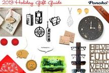 2013 Holiday Gift Guide / Gifts for everyone on your list, all made by Ponoko customers!