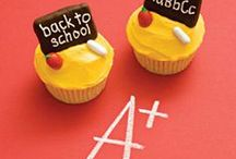Back to School/End of the Year Celebrations / For Back to School Celebrations and Parties with party themes, food ideas, and decoration idea for back to school!