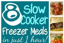 ☼ RECIPES: Freezer Meals / I'm always up for a good freezer meal to get me through those busy days.  This board is dedicated to freezer meal recipes!