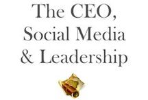 """CEO & Social Media / """"68% of Fortune 500 CEO's do not have a social media presence.""""  Social Media is not a fad - it's GROWING - in a way that can only make your marketing people salivate and customers """"Like"""" your products/services...so much so that they write about it on LinkedIn, Facebook or Twitter."""
