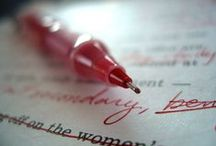 for writing; editing and publishing / by Alissa Bumgardner