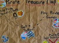 Pirate Party Ideas / All things Pirate- games, activities, décor, favors all for a pirate party.