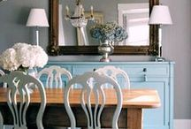 Home: Dining Room / From small family-style nooks to formal dining rooms.